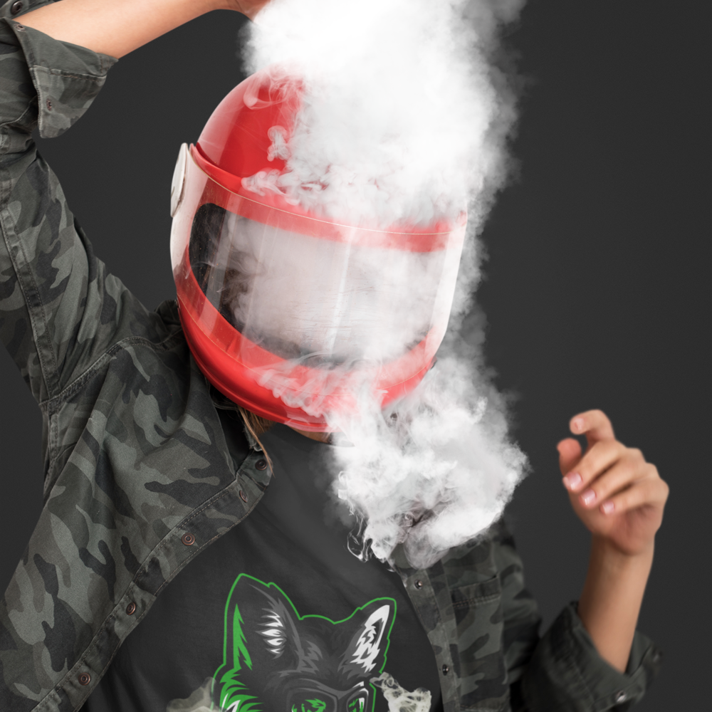 T-shirt-mockup-of-a-woman-with-smoke-coming-out-of-her-helmet-43074-r-el2-1621d871513decdb3fa691c62d4543b