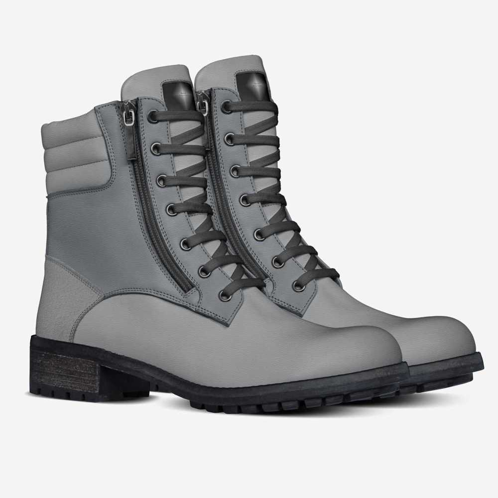 Gray_military_boot-shoes-double_quarter-1f4423a964b0c96598141924593f740